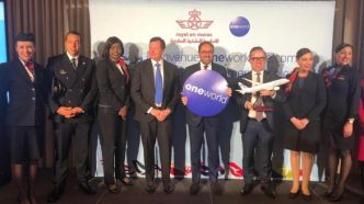 Royal Air Maroc rejoint l'alliance Oneworld