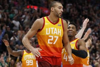 Basket - NBA - La nuit des Frenchies en NBA : Rudy Gobert se distingue mais perd avec le Utah Jazz