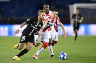 UEFA Champions League – J6 C : Etoile Rouge Belgrade – Paris SG en direct