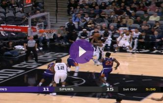 NBA : Rudy Gay signe l'action de la nuit