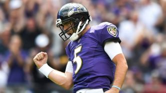 Joe Flacco perd son poste de quart partant