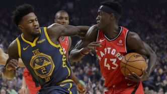 Les Raptors dominent les Warriors à Oakland