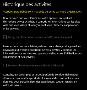 Finie la vie privée quand on utilise Windows 10 ?