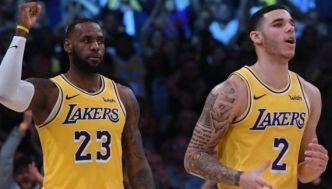 En triple double, LeBron James et Lonzo Ball cartonnent les Hornets