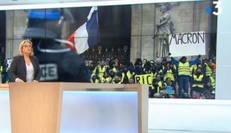 France 3 modifie une pancarte anti-Macron des gilets jaunes