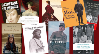 Biographies. La sélection d'Historia en 2018