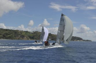 J-31 pour The Round Martinique Regatta