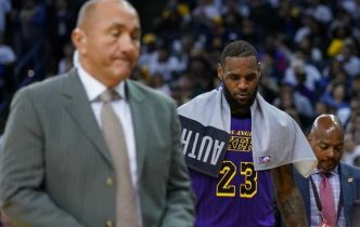 Lakers: LeBron James encore indisponible