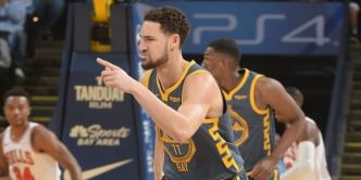 Stephen Curry et Klay Thompson en mode Splash Brothers