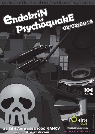 54 - Endokrin vs. Psychoquake @ L'Ostra Club le 02/02/2019
