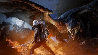 Monster Hunter World : Geralt de The Witcher sera jouable en février