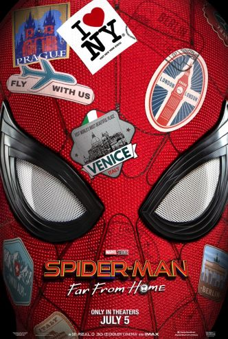 Spider-Man Far From Home : première bande-annonce VF et VOST !