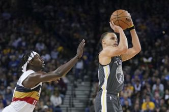 Basket - NBA - NBA : Stephen Curry sauve les Golden State Warriors contre New Orleans