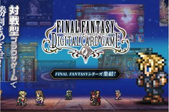 Final Fantasy Digital Card Game débarque... au Japon