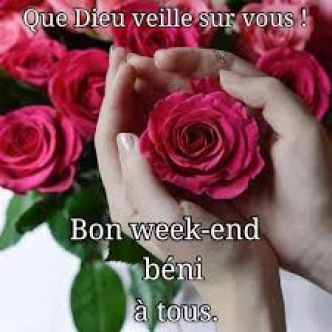 Bon week-end mes amies (s) en Christ