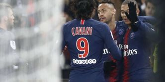 Football : Le PSG ridiculise Guingamp mais perd Verratti