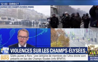 Gilets jaunes : le document qui raconte le conflit entre la rédaction et la direction de BFMTV