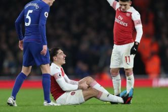 Foot - ANG - Arsenal - Hector Bellerin (Arsenal) absent jusqu'à la fin de la saison (officiel)