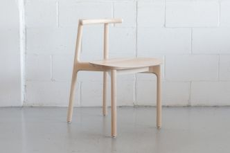 Chair I, repenser l'ergonomie d'une chaise par Kai Takeshima