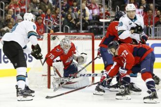 Hockey - NHL - NHL : les Sharks s'en sortent contre Washington, les Islanders battus par Chicago