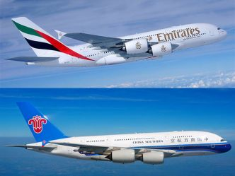 Emirates Airlines signe avec China Southern