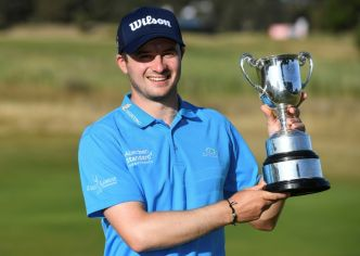 EPGA: l'Ecossais David Law remporte le Vic Open de golf, Sordet 8e