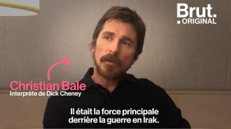 VIDEO. Dick Cheney, un homme politique qui inspire peu l'acteur Christian Bale