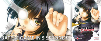 Avis manga : Battle Game in 5 seconds (Tome 4)