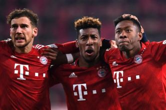 Foot - ALL - Le Bayern Munich s'impose à Augsbourg grâce à Kingsley Coman