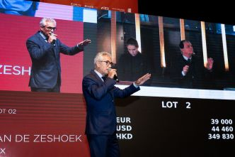 The Auction : top price à 41 000€ pour un embryon