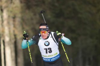 Biathlon - CM (H) - Quentin Fillon Maillet remporte la poursuite de Coupe du monde de Soldier Hollow, Simon Desthieux 3e