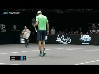 Highlights: Opelka Serves Up Maiden Title In New York 2019