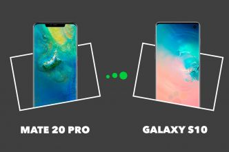 Samsung Galaxy S10 vs Huawei Mate 20 Pro : quelles différences ?