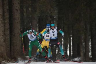 Biathlon - ChE - Championnats d'Europe : Lou Jeanmonnot et Aristide Bègue médaillés de bronze en relais mixte simple