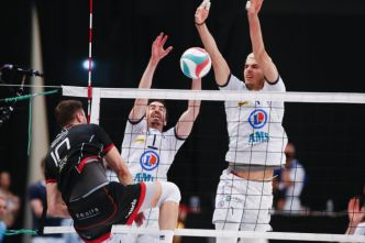 Coupe de France volley-ball : Tours l'emporte devant Chaumont