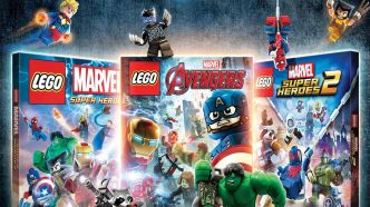 LEGO Marvel Collection se lance en vidéo