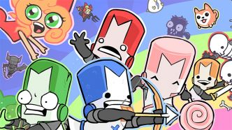 Nintendo Switch : The Behemoth semble teaser du Castle Crashers avec des Joy-Con
