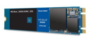 Western Digital : le SSD WD Blue adopte l'interface NVMe