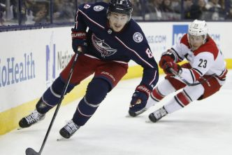 Les Blue Jackets blanchissent les Hurricanes 3-0