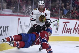 Blackhawks 0 - Canadien 0 (1er entracte)