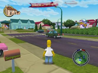 The Simpsons : Hit and Run, d'étranges découvertes ont été faites dans cet open-world de 2003
