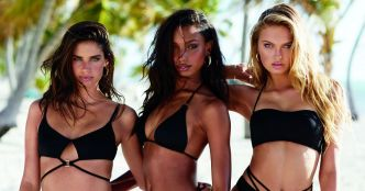 Victoria's Secret : Candice, Barbara et les anges, craquantes en bikini !