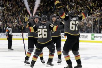 Les Golden Knights malmènent les Sharks