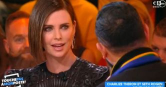 """""""Maybe ask next time"""" : L'actrice Charlize Theron rembarre Cyril Hanouna dans """"TPMP"""""""