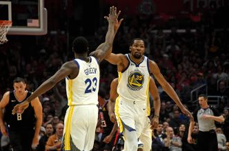 Basket - NBA - Kevin Durant porte Golden State vers la qualification