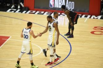 NBA : Golden State dompte les Clippers et retrouve Houston