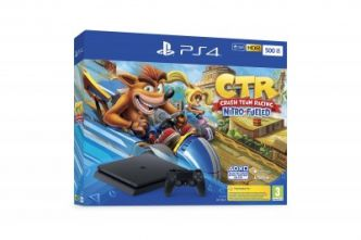 PS4 : des packs Crash Team Racing Nitro-Fueled annoncés