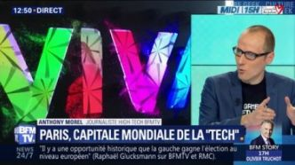 "Paris, capitale mondiale de la ""Tech"""