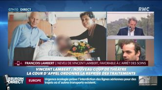 Affaire Vincent Lambert: sur RMC, le dialogue impossible entre l'avocat des parents et le neveu du patient tétraplégique