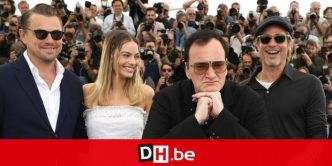 "La folie à Cannes pour Tarantino, DiCaprio, Brad Pitt et Margot Robbie: ""Once Upon a Time in Hollywood n'est pas un film sur moi"""